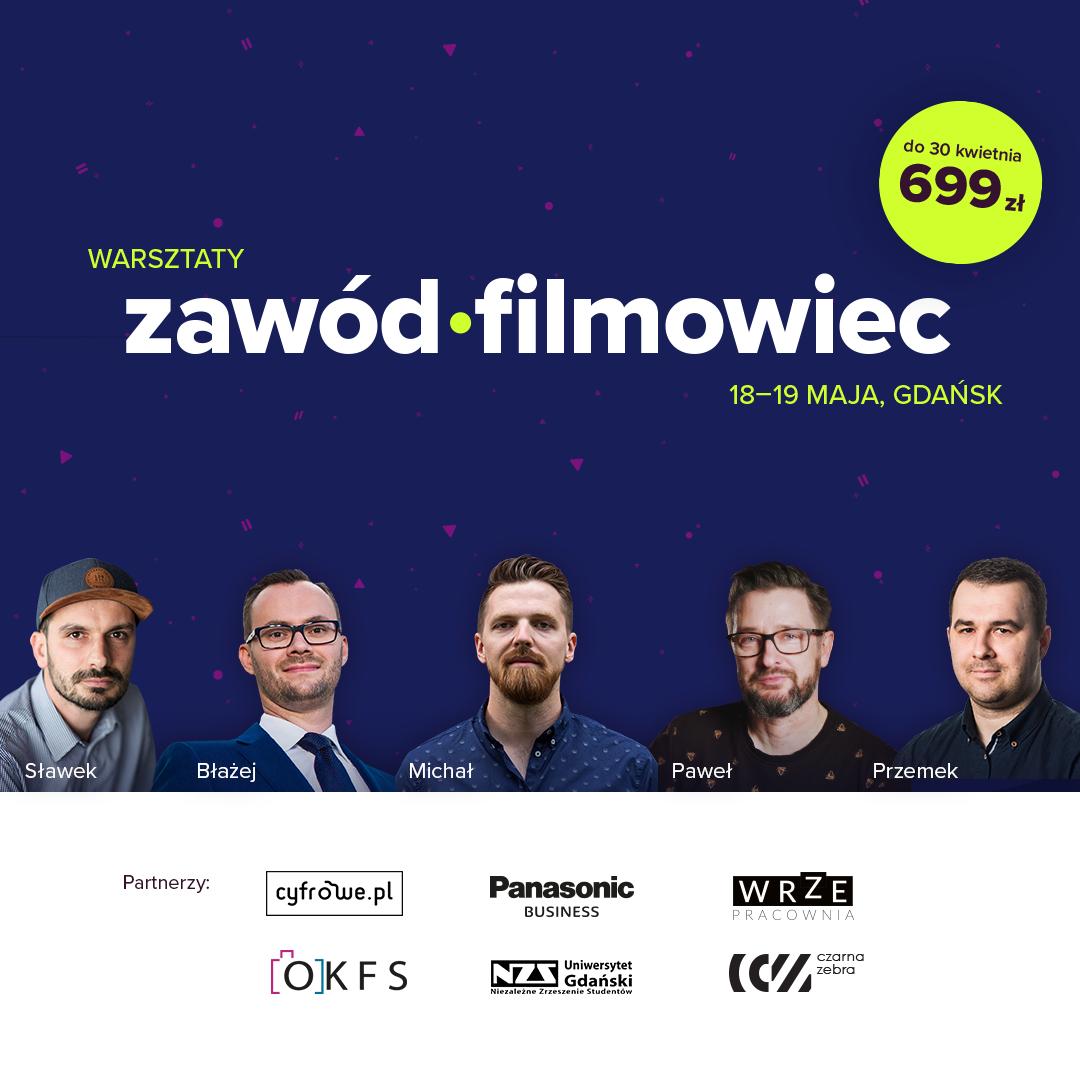 akademia twórców zawód filmowiec warsztaty filmowe czarna zebra gdańsk