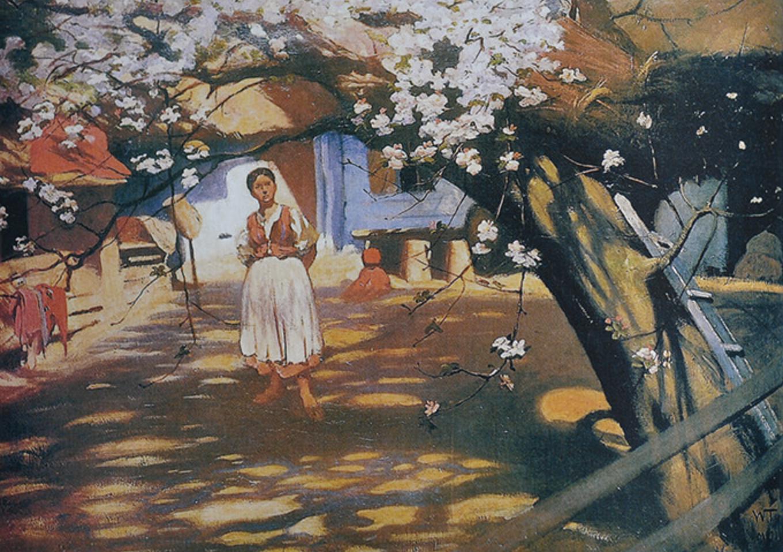 włodzimierz tetmajer kwitnąca jabłoń